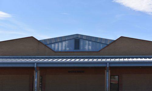 Peeling Paint on Roof Line
