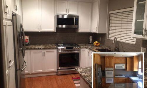 Kitchen Cabinet Painting / Restoration