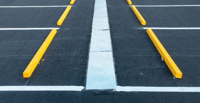 Check out our LINE STRIPING FOR PARKING LOTS
