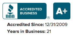 bbb accredited a+ business rating