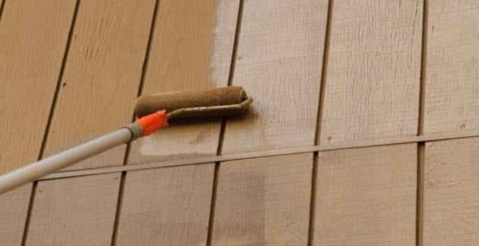 Check out our T1-11 SIDING PAINTING