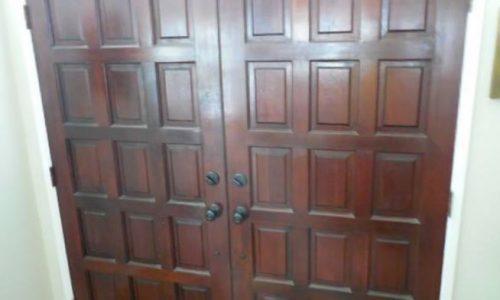 Door Staining