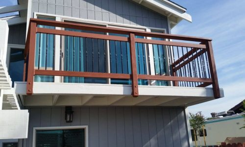 Bannister & Railing Staining