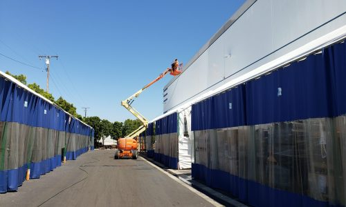 Exterior Warehouse Painting Project