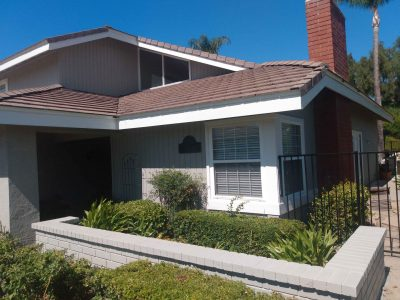 after exterior painting project