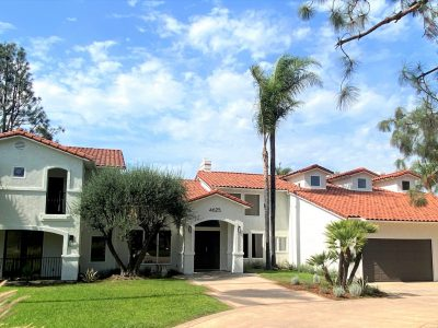exterior painting project in anaheim hills, ca